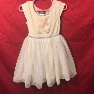 Free w/ any purchase! Pink & violet unicorn dress